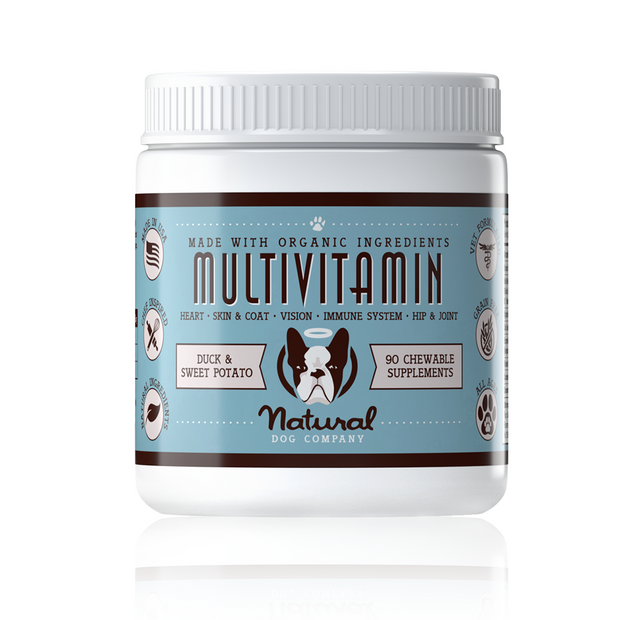 Multivitamin Supplement 90 Count | Natural Dog Company