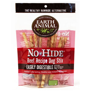 No-hide Beef Stix 10 pack 1.6 oz | Earth Animal