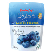 Organic Blueberry Oven Baked Dog Treats 14 oz.
