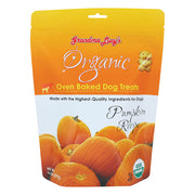 Organic Pumpkin Oven Baked Dog Treats 14 oz.