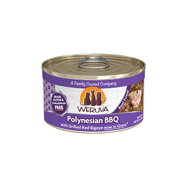 Polynesian BBQ with Grilled Red Bigeye in Gravy for Cats 3oz