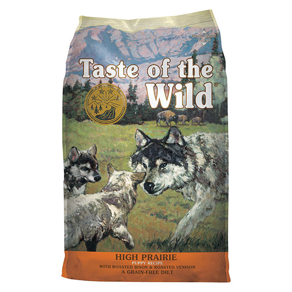High Prairie Puppy w/ Bison & Venison | Taste of the Wild