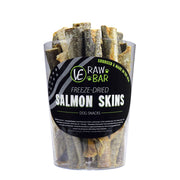 Raw Freeze-dried Salmon Skins Dog Treats Vital Essentials
