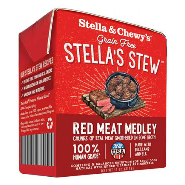 Stella's Stew Red Meat Medley 11 oz. | Stella & Chewy's