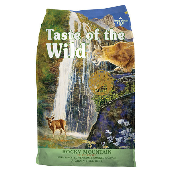 Rocky Mountain w/ Salmon & Roasted Venison | Taste of the Wild