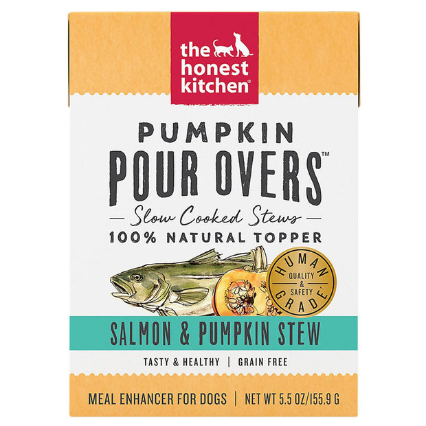 Salmon & Pumpkin Stew Pour Overs 5.5 oz | The Honest Kitchen