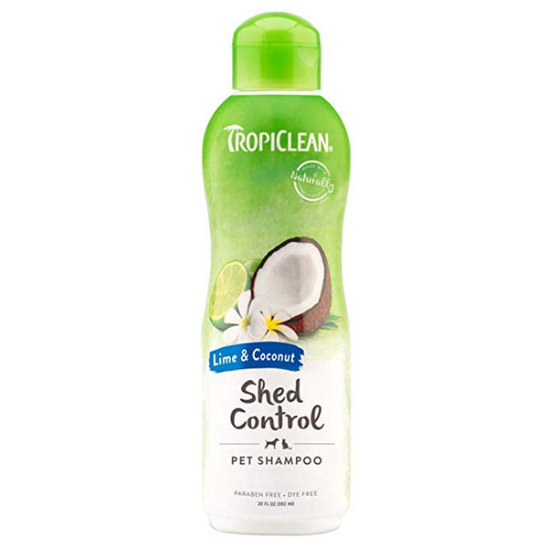 Shed Control Lime & Coconut Shampoo 20oz. | TropiClean
