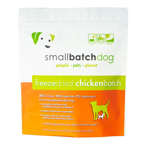 Chicken Batch Freeze-dried Raw 14 oz | Smallbatch