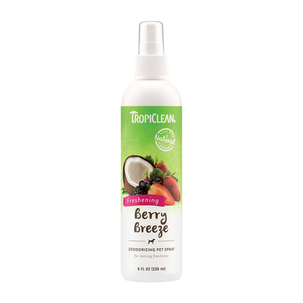 Berry Breeze Deodorizing Spray 8 oz | Tropiclean