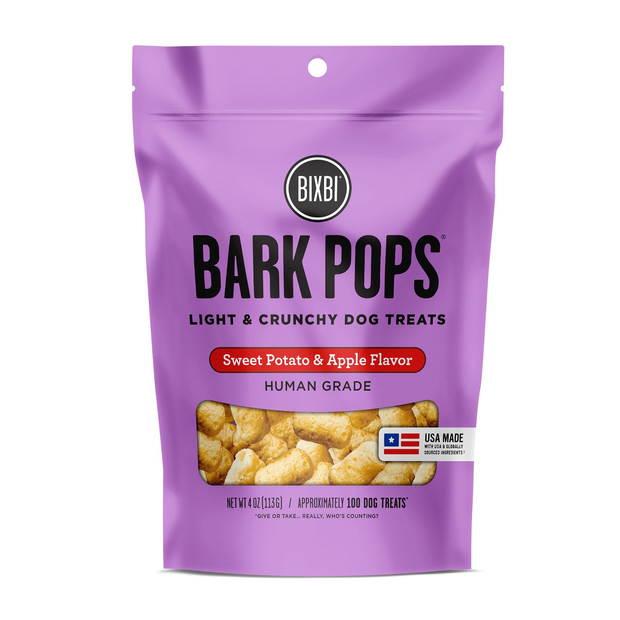 Bark Pops Sweet Potato & Apple Flavor 4 oz. | BIXBI