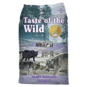 Sierra Mountain with Roasted Lamb | Taste of the Wild
