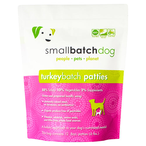 Turkey Batch Frozen Raw for Dogs | Smallbatch