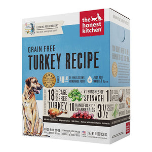 Grain-Free Turkey Dehydrated Recipe for Dogs | The Honest Kitchen