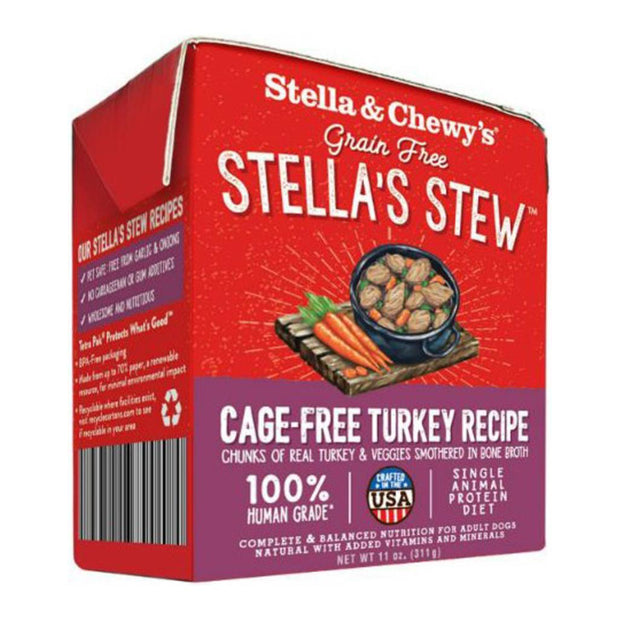 Stella's Stew Cage-Free Turkey Recipe 11 oz. | Stella & Chewy's
