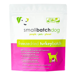 Turkey Batch Freeze-dried Raw 14 oz | Smallbatch
