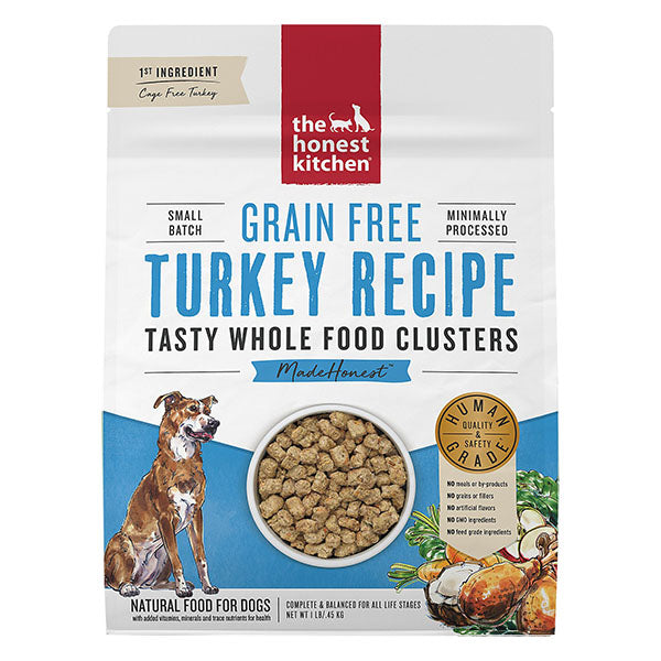 Whole Food Clusters Turkey | The Honest Kitchen