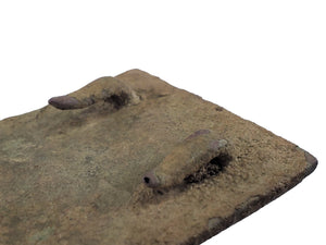 EXCAVATED CONFEDERATE CSA BELT PLATE RECOVERED IN COOSA COUNTY, AL