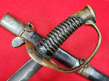 CONFEDERATE DEWITT FOOT OFFICERS SWORD AND SCABBARD GEORGIA