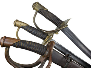 CONFEDERATE BOYLE, GAMBLE & MACFEE OFFICERS SWORD