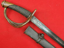 CONFEDERATE HAIMAN CAVALRY SWORD AND SCABBARD