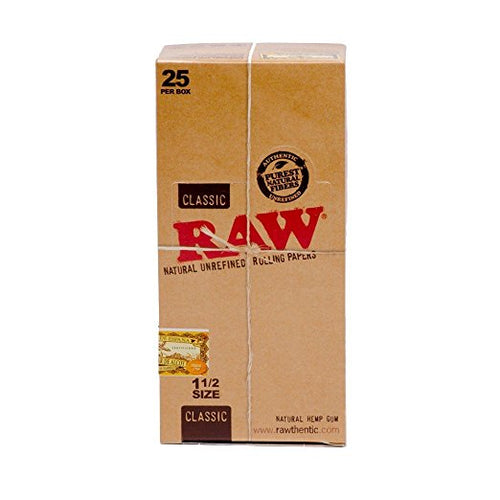 RAW Classic 1 1/2 - 25 packs per Box - Vapeszn.com, sold by vapeszn, vapeszn products, vapepen twist, juul for sale, RAW Classic 1 1/2 - 25 packs per Box for sale, cheap RAW Classic 1 1/2 - 25 packs per Box for sale, buy RAW Classic 1 1/2 - 25 packs per Box online, Papers for sale, buy Papers online, Vapeszn.com store, Vapeszn.com sale