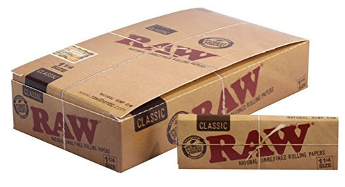 RAW Classic 1 1/4 - 24 Packs - Vapeszn.com, sold by vapeszn, vapeszn products, vapepen twist, juul for sale, RAW Classic 1 1/4 - 24 Packs for sale, cheap RAW Classic 1 1/4 - 24 Packs for sale, buy RAW Classic 1 1/4 - 24 Packs online, Papers for sale, buy Papers online, SznSales.com store, SznSales.com sale