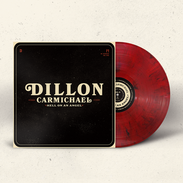 'Hell On An Angel' Album — Limited Ed. Red LP