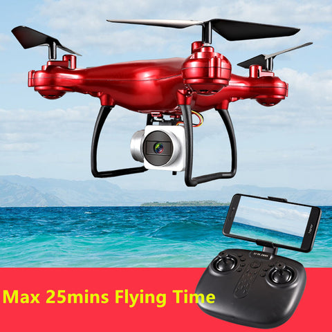1080P WIFI FPV HD Camera 2.4G RC Drone Quadrocopter Helicopter with 1-button Takeoff, Landing, Hovering and Return
