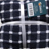 100% Cotton Premier Quality Check Tea Towels 72 PCs