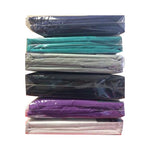 "Double Fitted Sheet with 11"" Box Elastic All around 20 PCs"