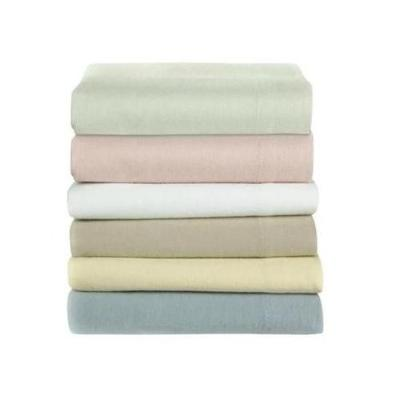 Flannelette Double Fitted Sheet Brushed Cotton 10 PCs