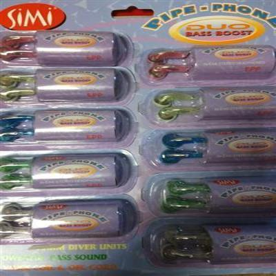 Mini Headphones  200 PCs