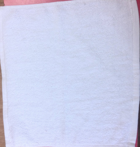 450GSM White Face Cloth (288 PCs)