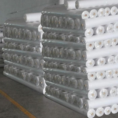 "69"" Wide 100% Cotton White 200 Meter"