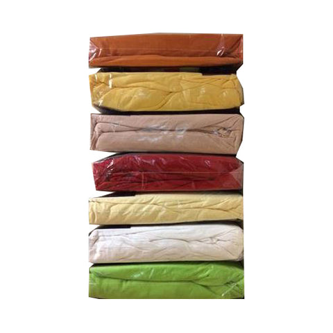 Special Offer Double Size 100% Cotton Jersey Fitted Sheets 20 PCs