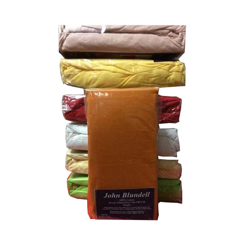 CLEARANCE Single & Double Jersey Fitted Sheet £1.75 P Pc 20 Pcs per Carton. Min 10 Carton plus £50 Delivery