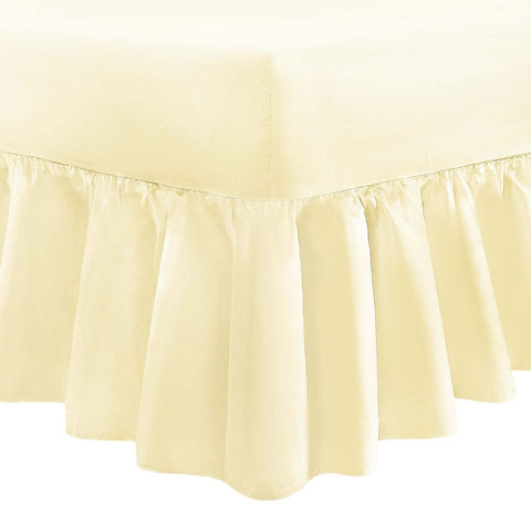 Double Size Platform Valance Box Pleated 12 PCs