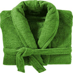 100% Cotton Terry Towelling Shawl Collar Bathrobes Assorted Colours 12 PCs