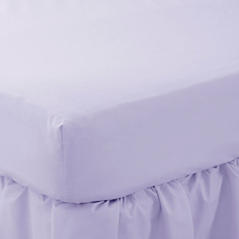 150 Thread Count Poly cotton Single Fitted Sheets 20 PCs