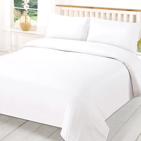 400 Thread Count Egyptian Cotton White Double Sheet Sets 10 PCs