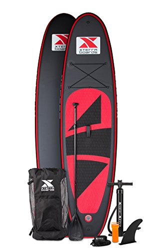 Xterra Paddle Boards >> Xterra Inflatable Stand Up Paddle Board Package 10