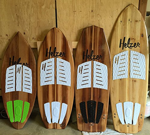 3 PIECES Surfboard Traction Pad Grip Skimboard SUP Surf Traction Tail Pads