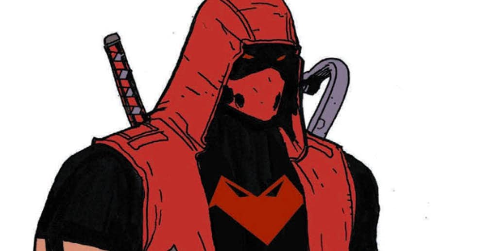 DC Debuts Jason Todd's New Red Hood Mask, Costume & Emblem