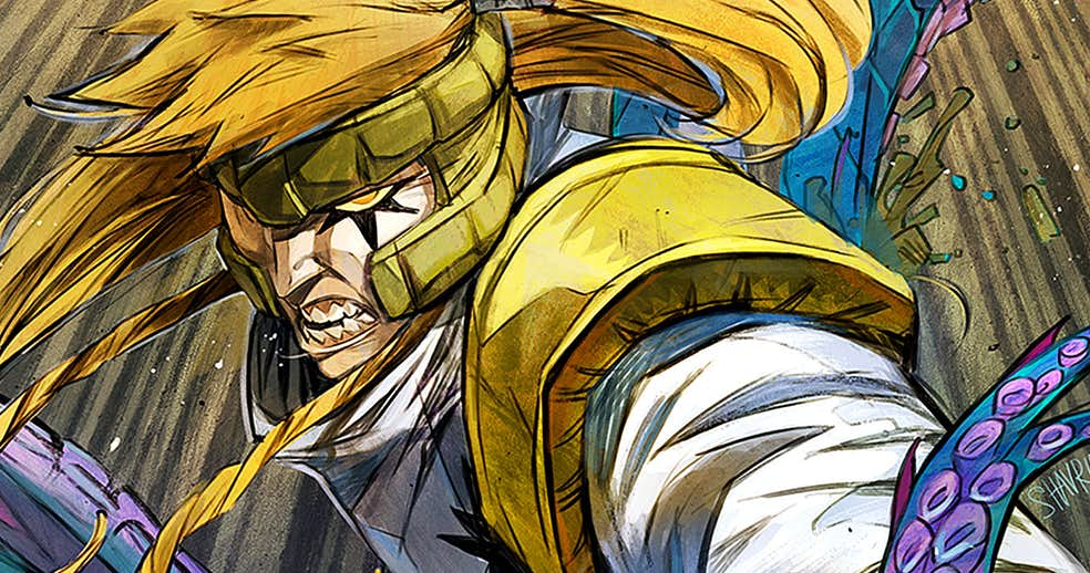 Shatterstar's New Costume Showcased in Character Sheet
