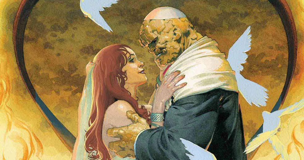 Marvel Promises a Fantastic (Four) Wedding in December