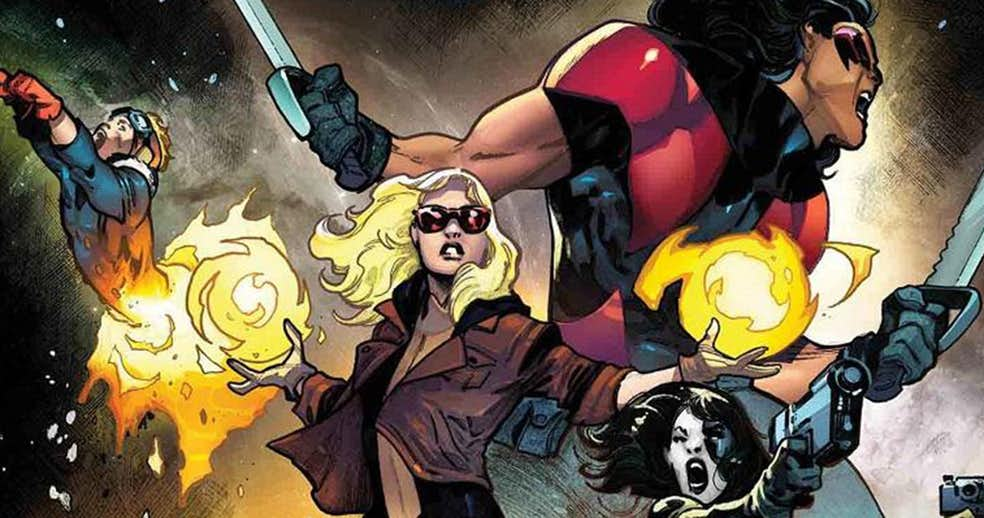 Original X-Force Reunites For New Ongoing Series