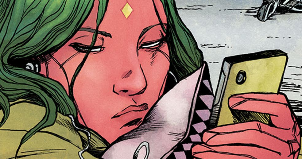 Vision Writer Chelsea Cain Shocked By Comic's Cancellation