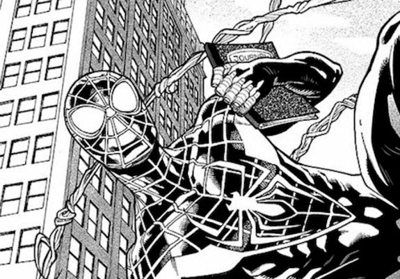 First Look: MILES MORALES: SPIDER-MAN #1 Interior Art