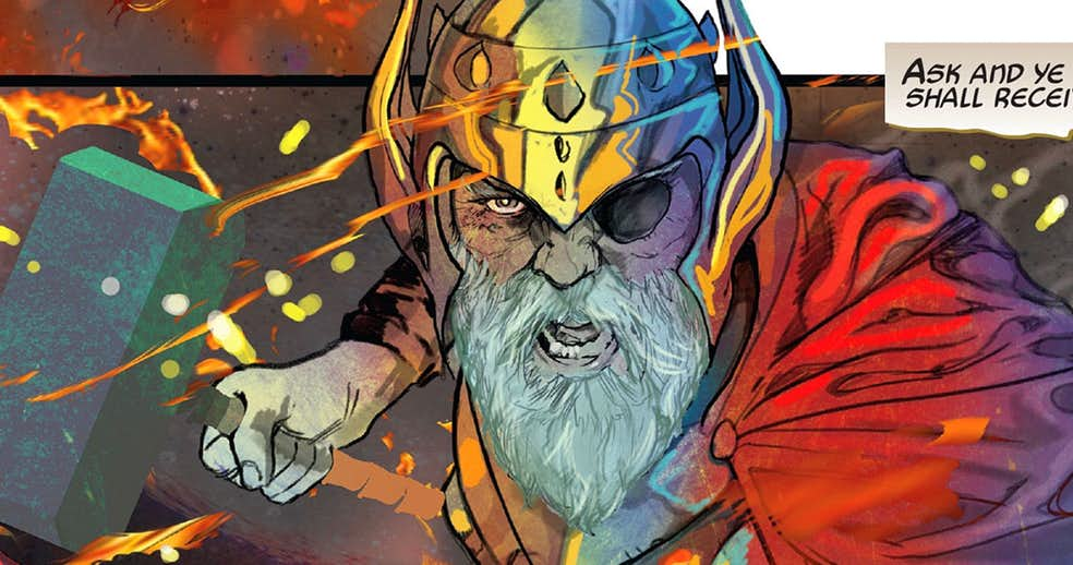 A Major Villain Joins Thor, Old Man Phoenix At the End of the Marvel Universe