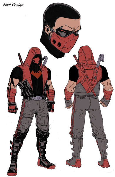 Jason Todd's New Red Hood Costume Final Design